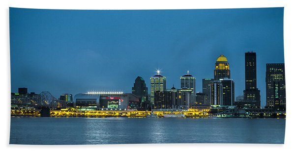 Louisville Ky 2012 Bath Towel