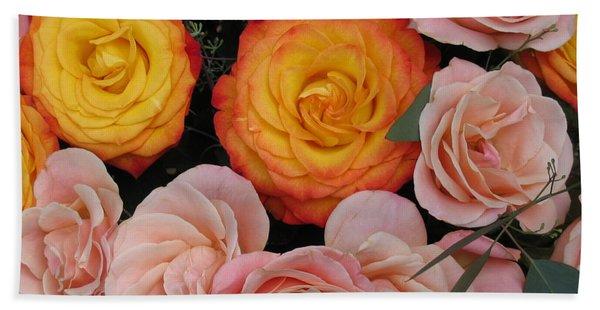 Love Bouquet Bath Towel