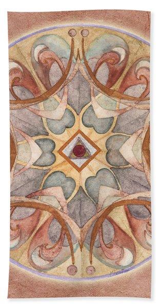Love Mandala Hand Towel