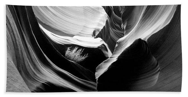 Lower Antelope Canyon Shrub Bath Towel