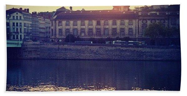 Lyon City- An Amazing Place! Bath Towel
