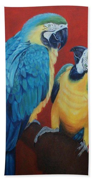 Macaws   Hand Towel