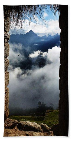 Machu Picchu Peru 4 Hand Towel