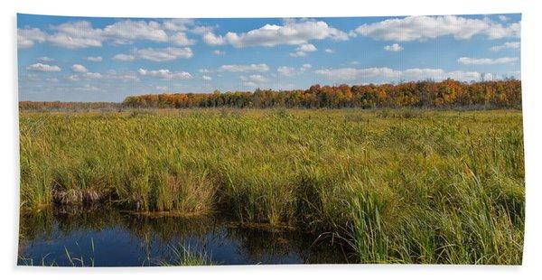 Magnificent Minnesota Marshland Hand Towel