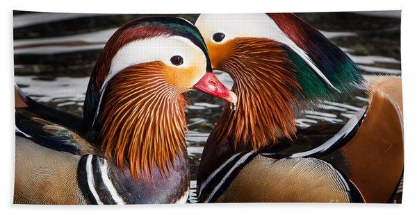 Mandarin Lovers Hand Towel
