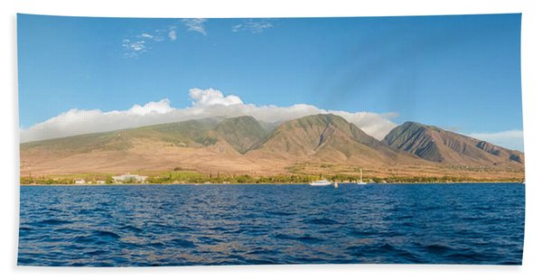Maui's Southern Mountains   Bath Towel