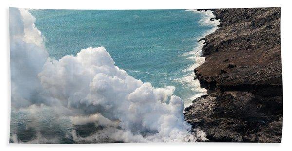 Mauna Loa Hand Towel