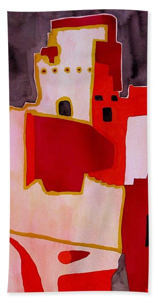 Mesa Verde Original Painting Sold Bath Towel