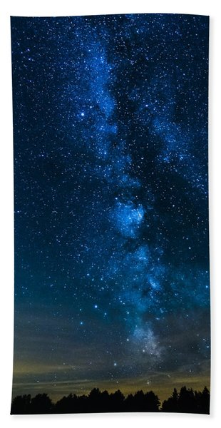 Milky Way Cherry Springs Bath Towel