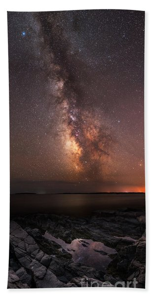 Milky Way Tide Pool Hand Towel