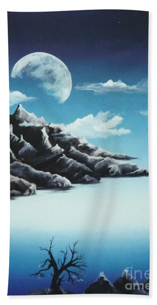 Moonrise Bath Towel