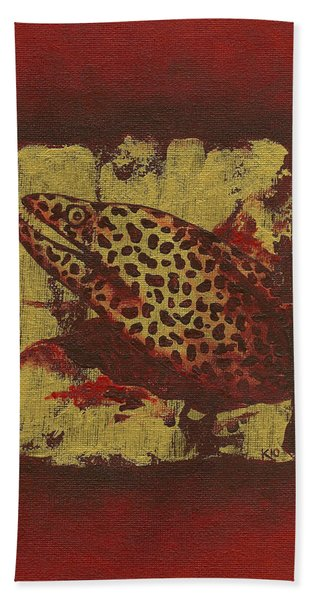 Moray Eel Hand Towel