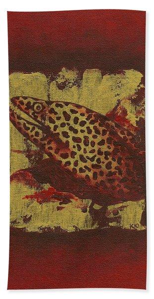 Moray Eel Bath Towel