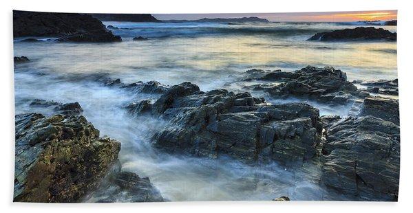 Mourillar Beach Galicia Spain Bath Towel