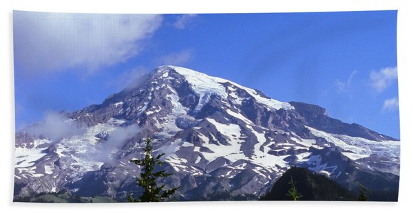 Mt. Rainier Bath Towel