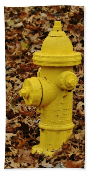 Mueller Fire Hydrant Hand Towel