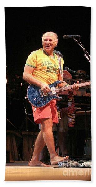 Musician Jimmy Buffett Hand Towel
