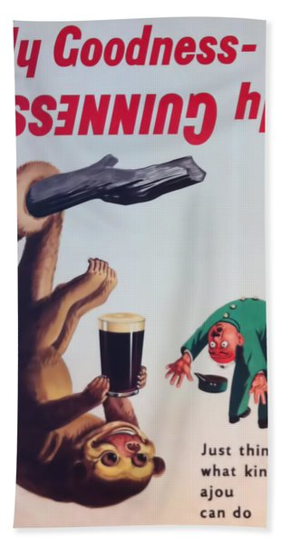 My Goodness-  My Guinness Hand Towel
