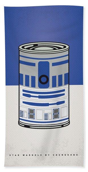 My Star Warhols R2d2 Minimal Can Poster Hand Towel