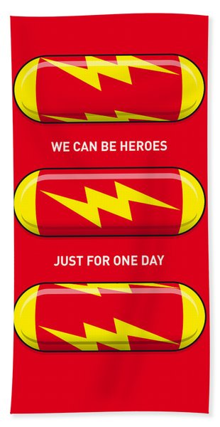 My Superhero Pills - The Flash Bath Towel