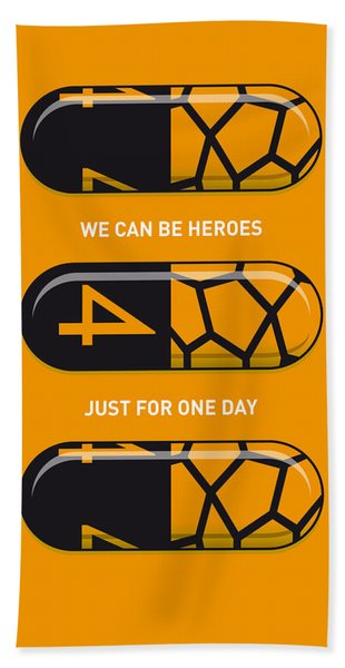 My Superhero Pills - The Thing Bath Towel