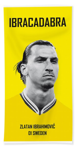 My Zlatan Soccer Legend Poster Bath Towel