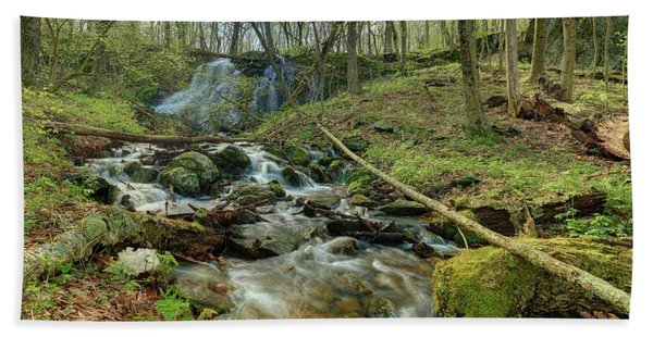 Naked Creek Falls Bath Towel