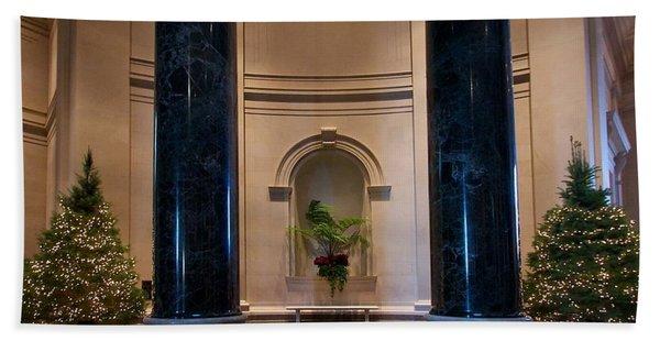 National Gallery Of Art Christmas Hand Towel