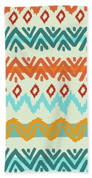 Southwest Pattern I Bath Towel