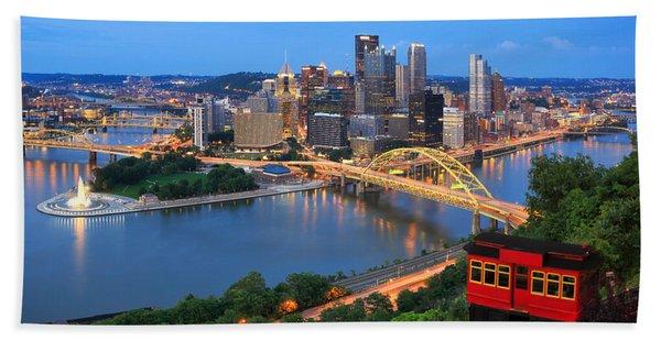 Pittsburgh Summer  Bath Towel