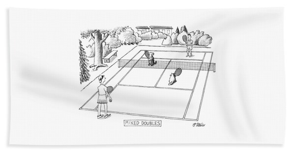 New Yorker June 3rd, 1991 Bath Towel