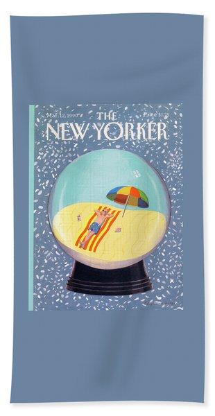 New Yorker March 12th, 1990 Bath Towel