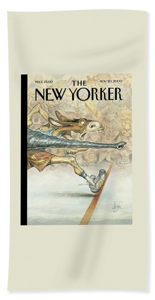 New Yorker November 20th, 2000 Bath Towel