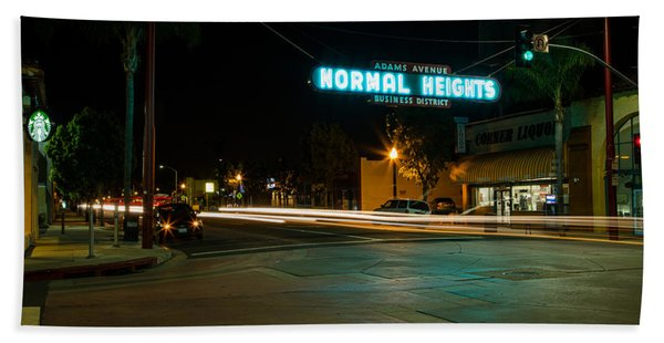Normal Heights Neon Bath Towel