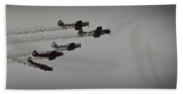 Norteast Raiders At The Greenwood Lake Airshow 2012 Hand Towel
