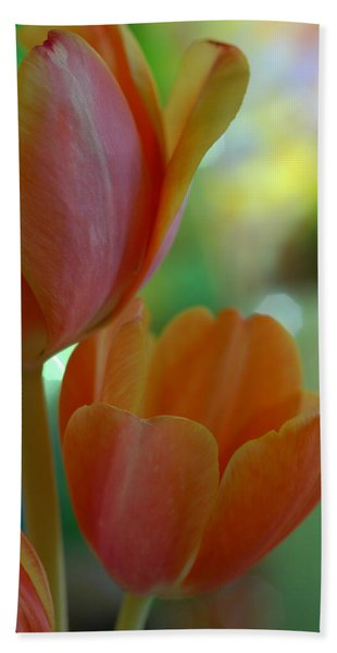 Nothing As Sweet As Your Tulips Bath Towel