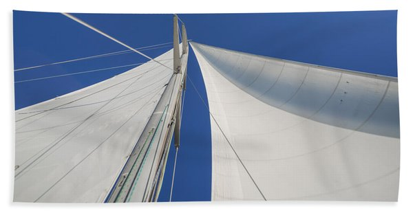 Obsession Sails 1 Bath Towel