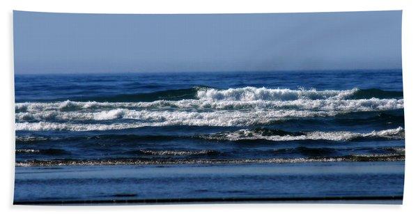 Ocean Blue Bath Towel