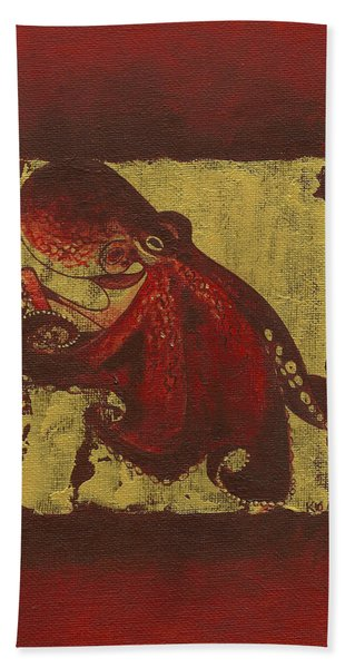 Octopus Hand Towel