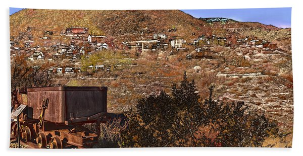 Old Mining Town No.24 Hand Towel
