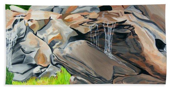 On The Rocks Bath Towel