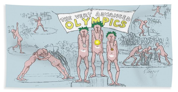 Original Olympics Hand Towel
