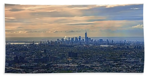 Over East New York Hand Towel