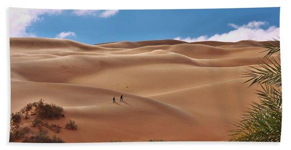 Over The Dunes Hand Towel