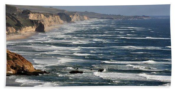 Pacific Coast - Image 001 Bath Towel