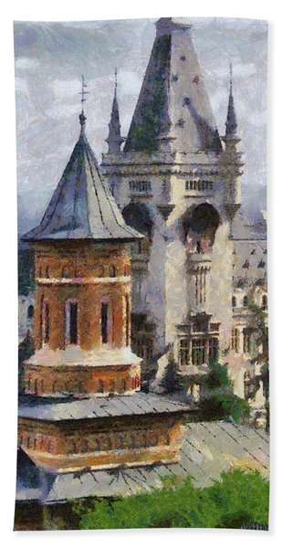 Palace Of Culture Hand Towel