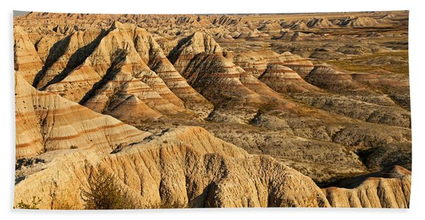 Panorama Point Badlands National Park Hand Towel