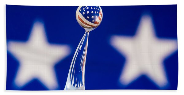 Patriotic Pop Hand Towel