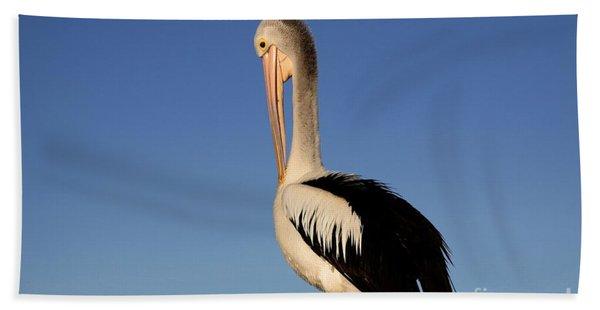 Pelican Alone Hand Towel