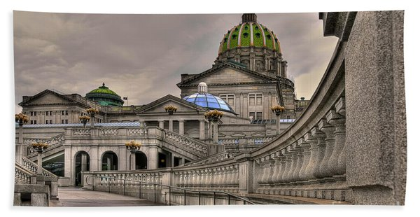 Pennsylvania State Capital Bath Towel